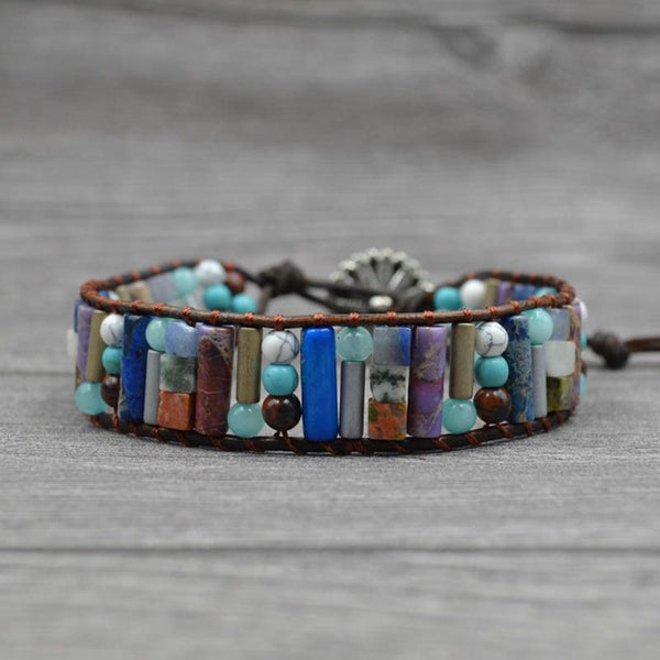 Color Block Ethnic Woven Unisex Bracelets