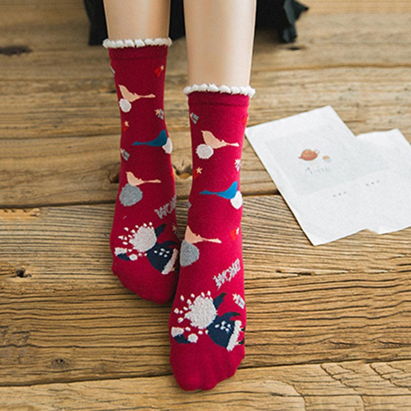 Warm Winter Regular Socks