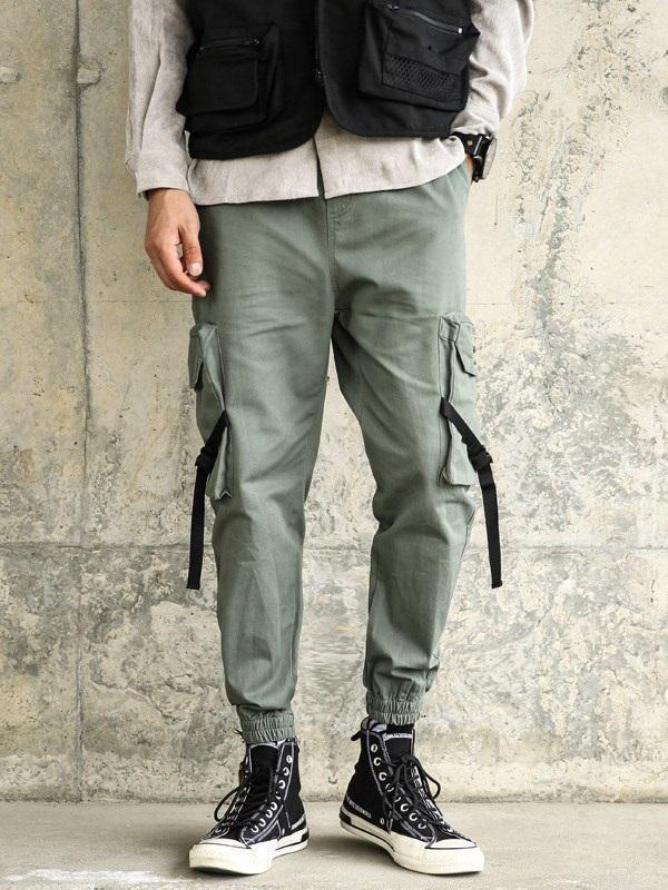 Overall Pocket Casual Spring Casual Pants