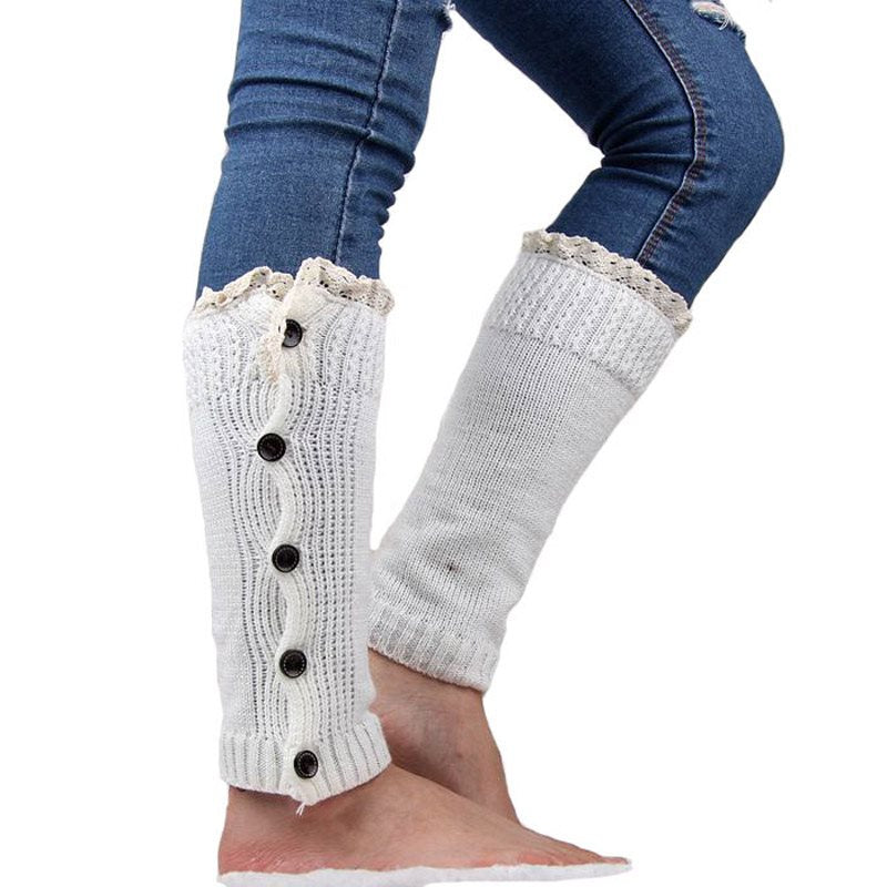 Warm Casual Plain Winter Socks