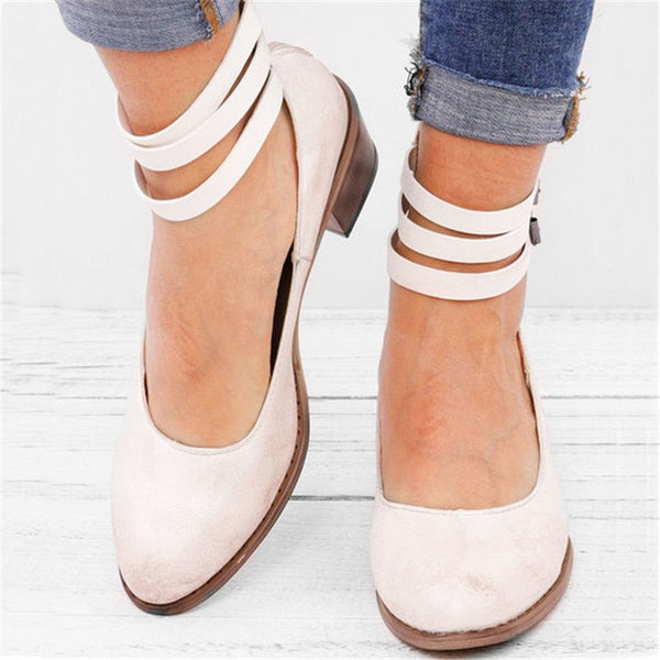 Closed Toe Buckle Sandals