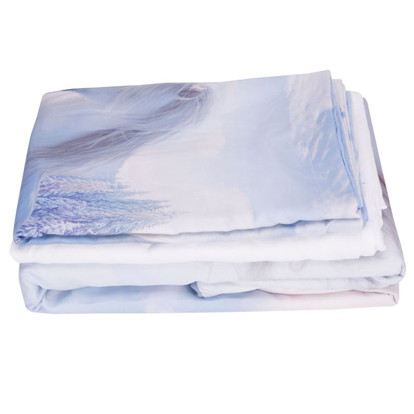 Tencel Cotton Duvet Cover Set Bedding Set Machine Wash
