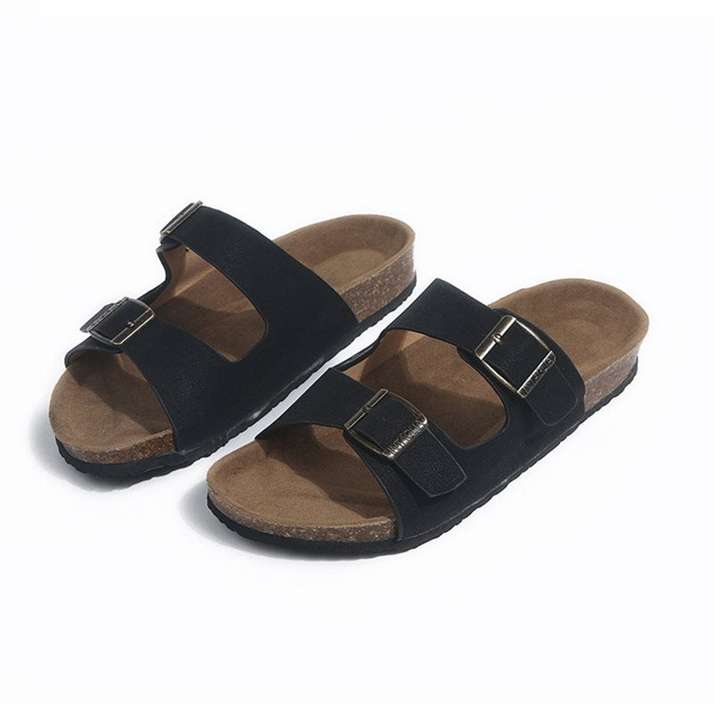 Flat With Flip Flop Slip-On Buckle Summer Casual Slippers