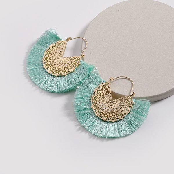Geometric E-Plating Bohemian Party Earrings