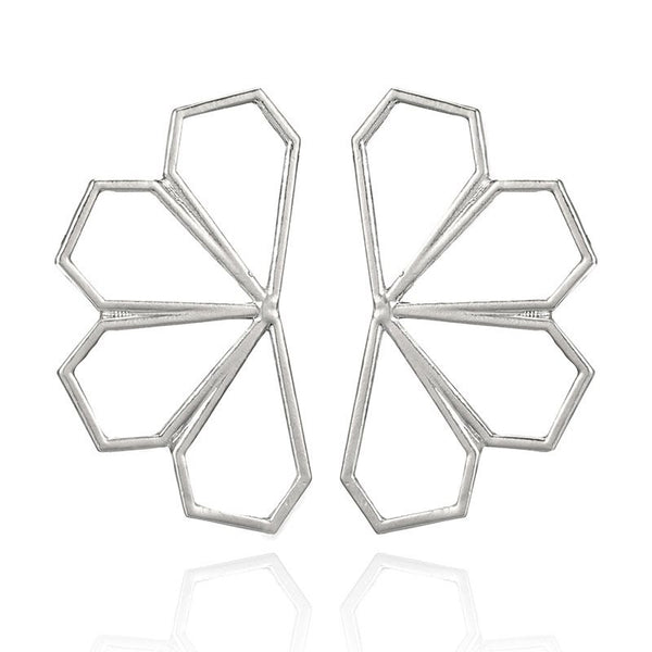 Alloy Plain E-Plating Birthday Earrings