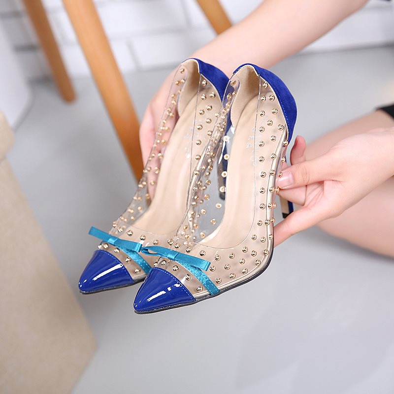 Closed Toe Slip-On Polka Dot 3D Sandals