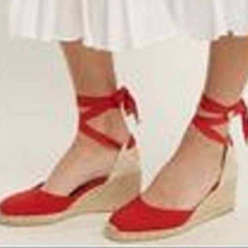 Round Toe Lace-Up Wedge Heel Low-Cut Upper High Heel Thin Shoes