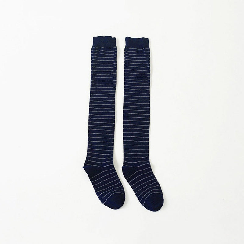Winter Deodorization Stripe Regular Socks