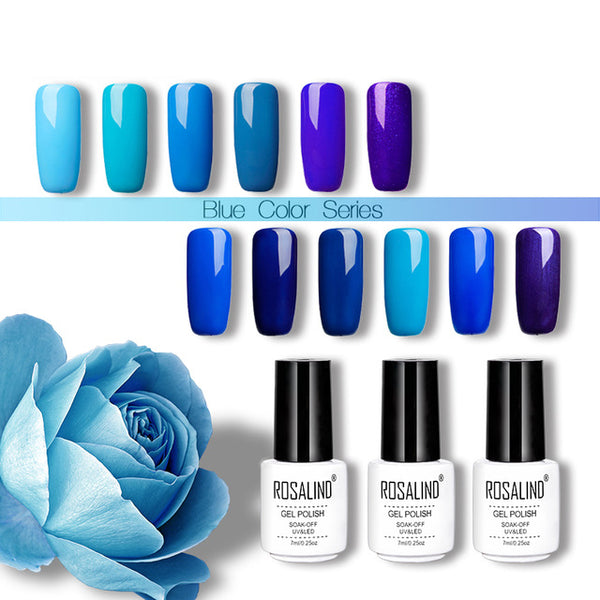 Gel Nail Polish Blue Nail Primer Top Coat Hybrid Nails Art Accessoires Varnishes Vernis UV Gel Polish all for manicure