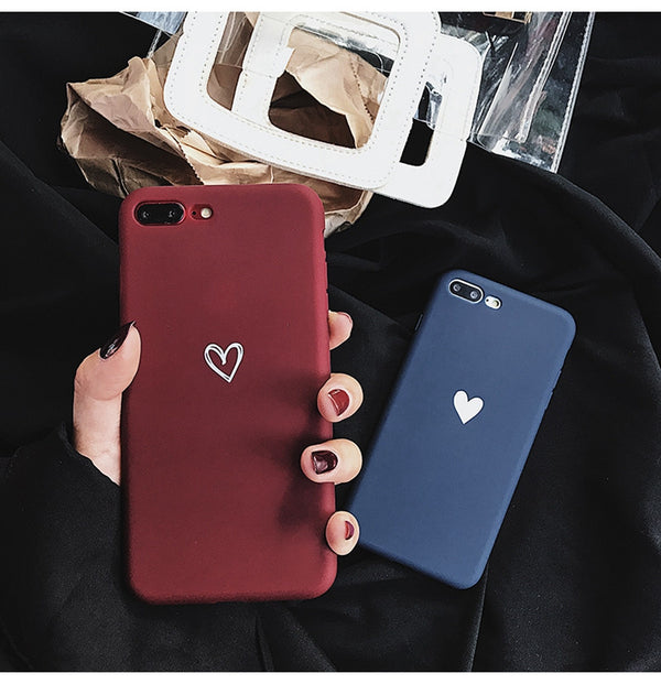 Love Heart Pattern Phone Cases Cover For Iphone