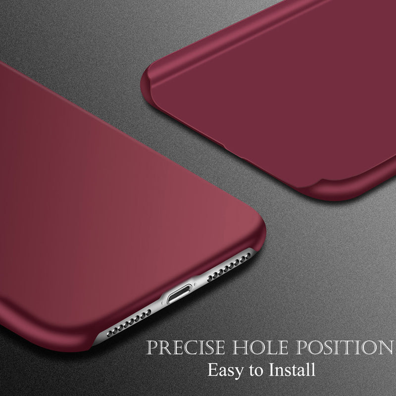 Ultra Thin PC Matte Case For iPhone