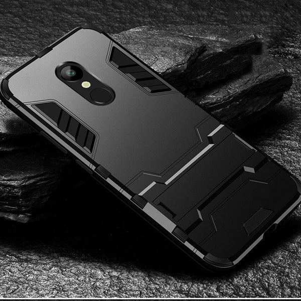 Phone Case For xiaomi redmi 5 plus case Design Armor Shockproof Hybrid Hard stand Back case