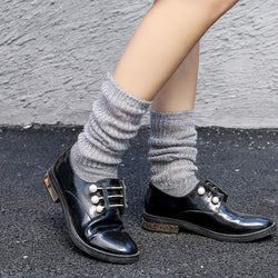 Plain Deodorization Fall Regular Socks