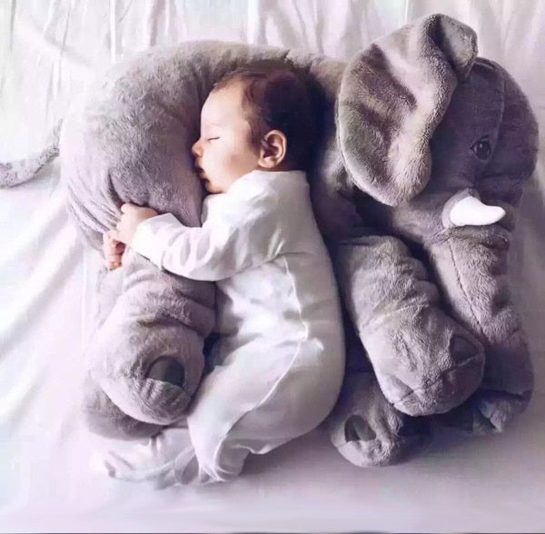 100% Cotton Elephant Baby Pillow Animals Soft Toys