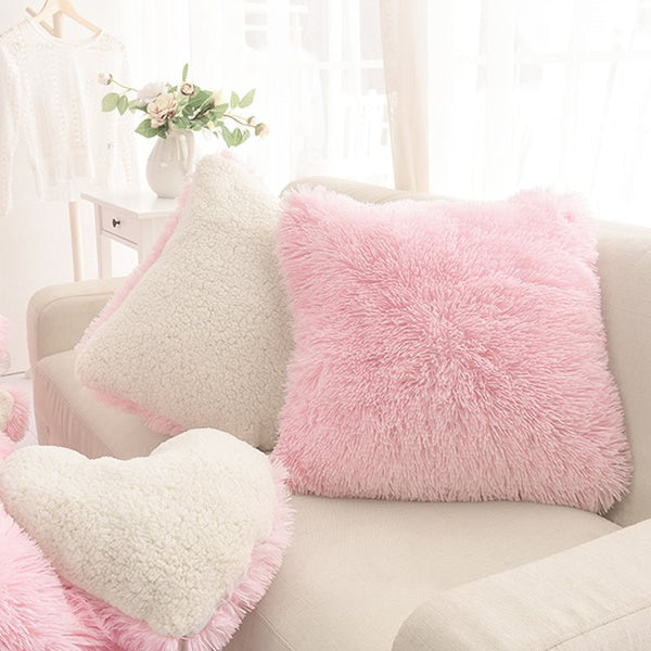 Polyester Throw Pillow Machine Wash Lace
