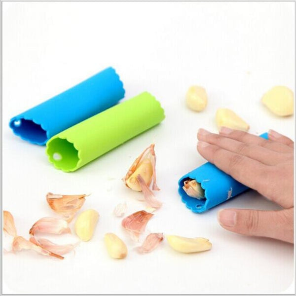Magic Silicone Garlic Peeler Peel Easy Kitchen Tool Color Random