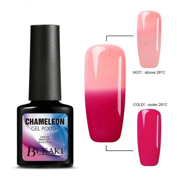 Temperature Change Nail Polish UV LED Nail Lamp Nail Gel Polish