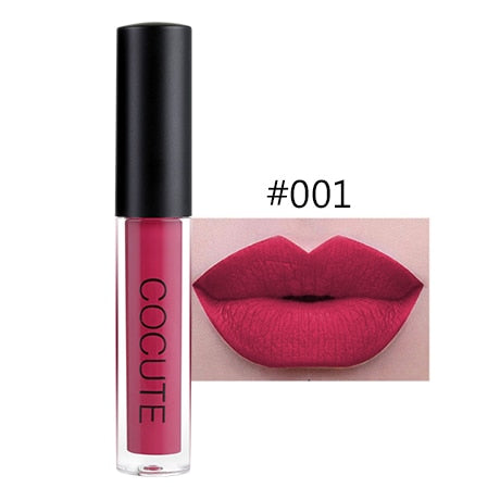 Matte Lipstick Waterproof Makeup Lip Gloss Liquid Lip Stick