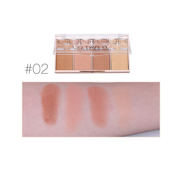 4 Colors Concealer Palette Face Makeup Base Contouring Palette Foundation Concealer Powder