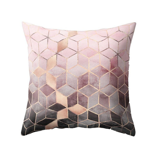 Nordic Style Geometric Cushion Cover Polyester Pillow Case