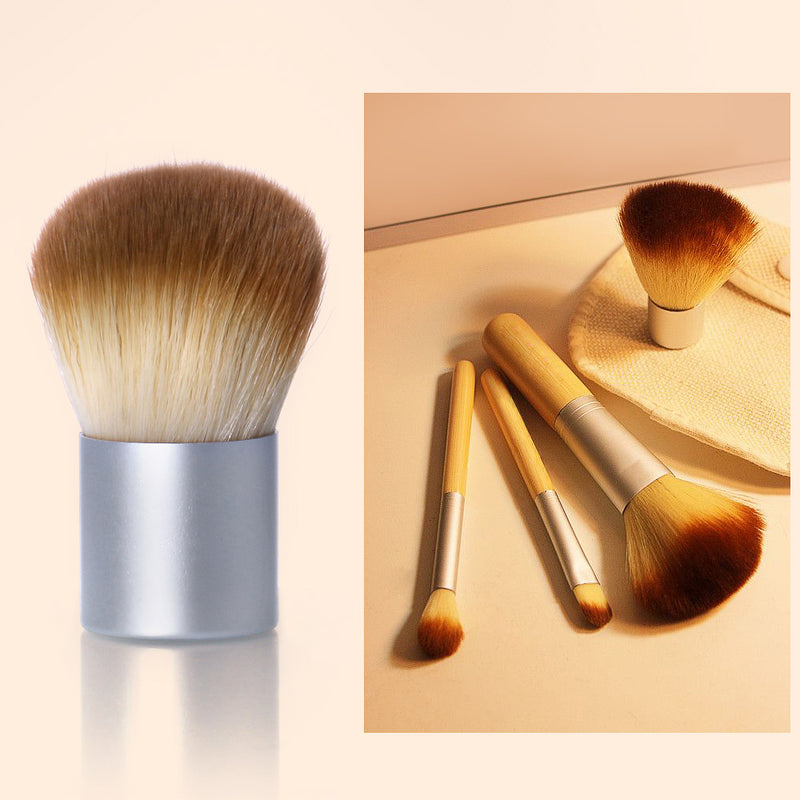 4PCS/LOT Bamboo Brush Foundation Brush Make-up Brushes