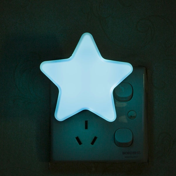 Light Sensor Control Mini Star LED Night Light for Dark Night