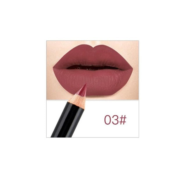 6 Color Natural Matte Moisturizing Lipstick