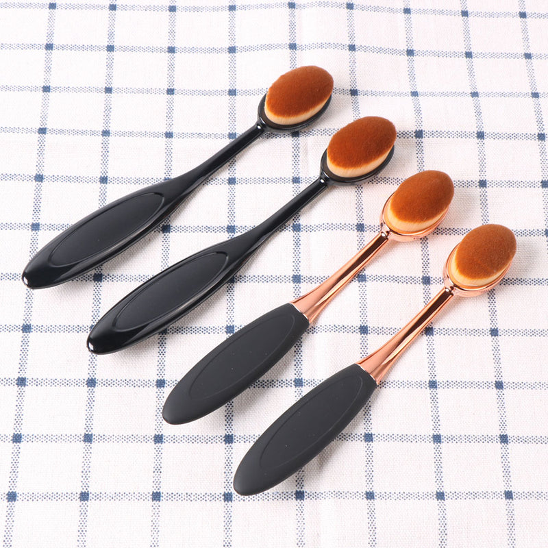 1pcs Soft Toothbrush Type Cosmetic Face Powder Foundation Make Up Brushes