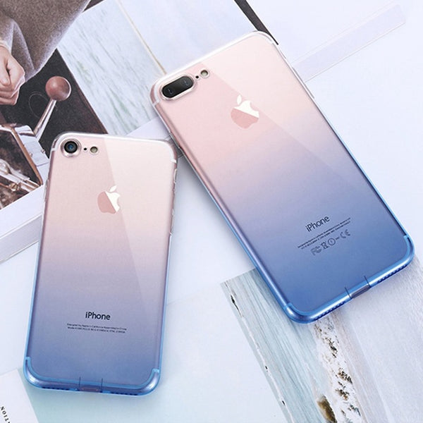 iPhone 6 6S 7 8 Plus Ultra Thin Cases for iPhone X XS Max XR 5S 5 SE