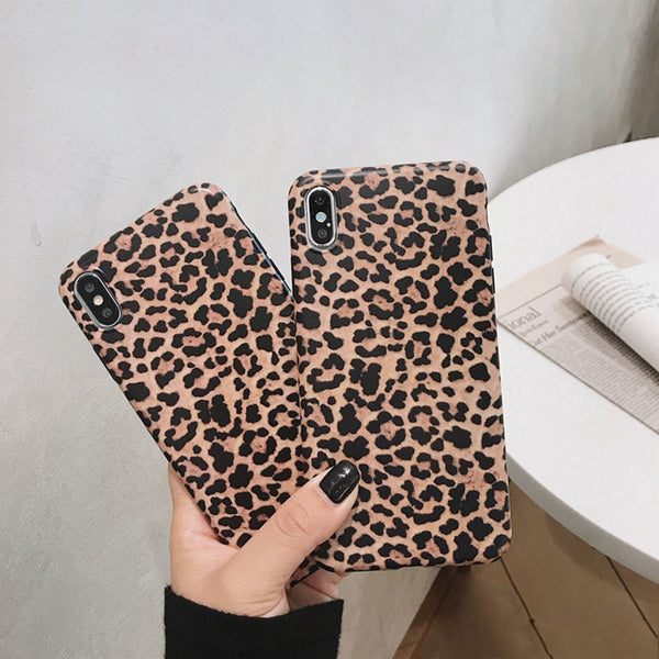 Fashion Leopard print Phone Case For iphone