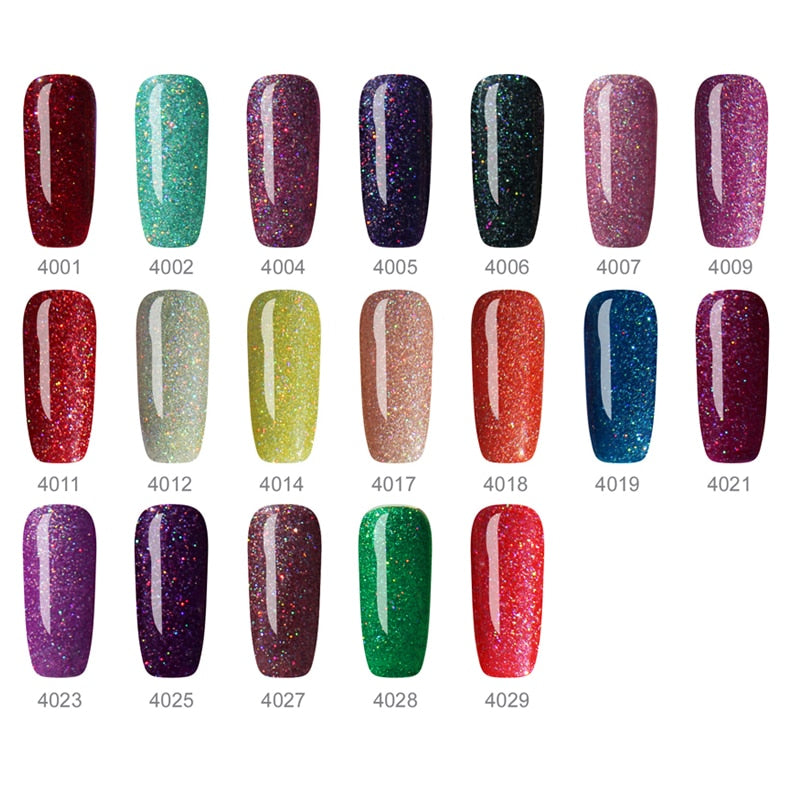 Neon UV Gel Varnish Hybrid Nails Art Lucky Glaze UV Gel Nail Polish for Colorful Neon Color All Nail Gel Polish Soak Off