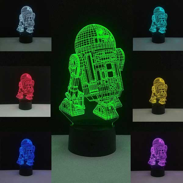 Star Wars Lamp Death Star 3D Night Lights