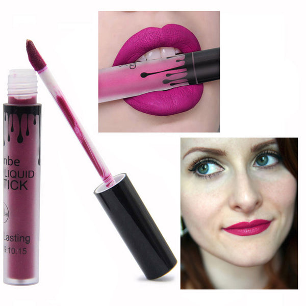 Matte Liquid Lipstick Women Lips Gloss Make up Lip Stick