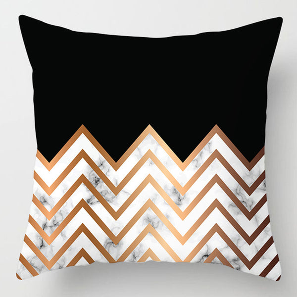 Geometric Pillow Case 45*45 Polyester Throw Pillows Cover