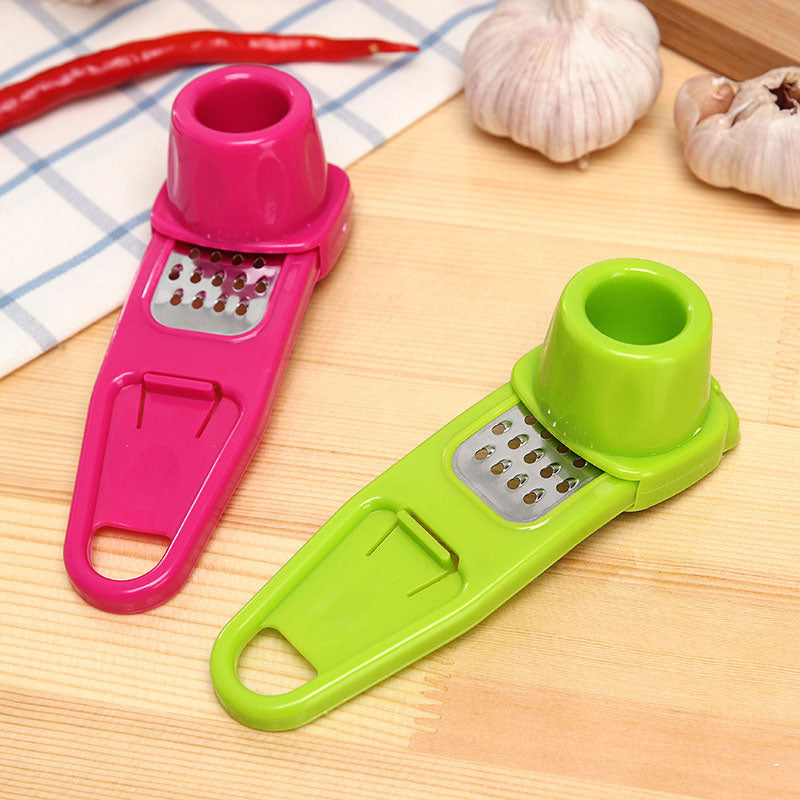 Candy Color Kitchen Accessories Plastic Ginger Garlic Grinding Tool