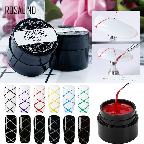 Spider Gel Nail Polish Art Nail Design Point To Line Drawing And Painting Decoration Pulling Silk Spider Gel Lacquer