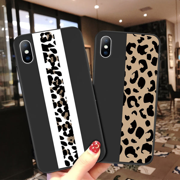 Fashion Leopard Print Colorful Soft TPU For iPhone