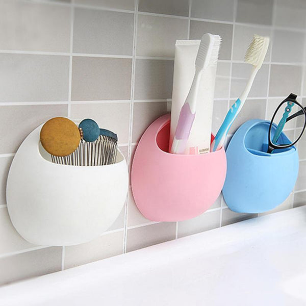 Toothbrush Holder Pen Glasses Holder Wall Suction Cups