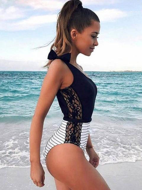 Sexy One Piece Swimsuit 2019