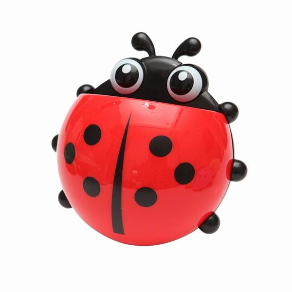 Ladybug Insect Toothbrush Holder Bathroom Accessories