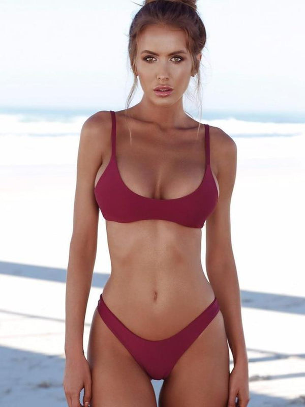 Sexy Women Swimwear Brazilian Push Up Bikini