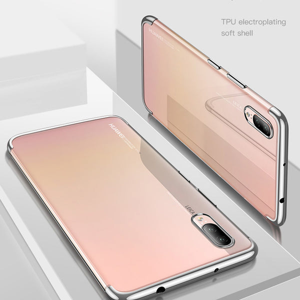 Soft TPU Ultra-thin Lightweight Electroplating Case For Huawei