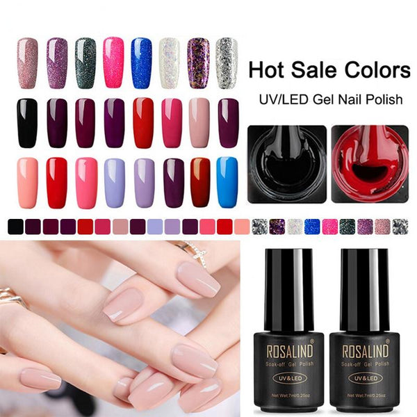 Hybrid Gel Nail Polish Nails Soak-Off Vernis Semi Permanent Top Coat Nail Art Manicure Gel UV Polish Varnish
