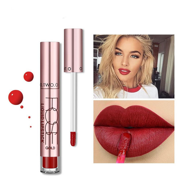 12colors Best Sale Hot Cosmetics Makeup Lip Gloss Long Lasting Waterproof Matte Lipstick