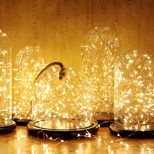 Waterproof 2M 5M LED Fairy Garland Night Light Christmas Wedding Decoration