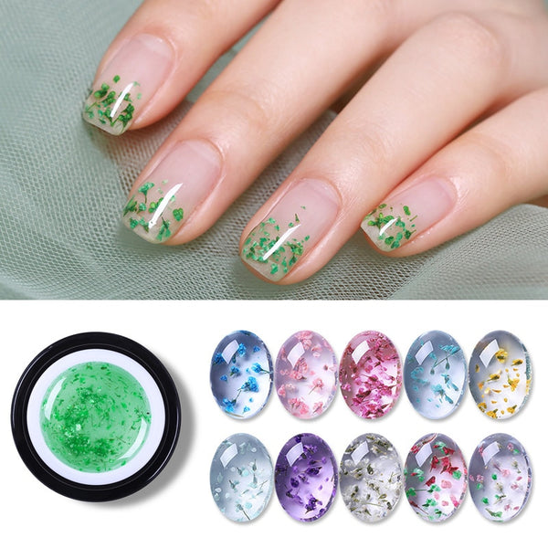 5ml Soak Off Nail Gel Polish Flower Fairy Gel Varnish Gradient Effect Long Lasting Manicure DI Nail Art