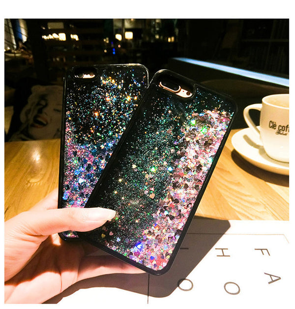 For Huawei Luxury Glitter Liquid Sand Quicksand Star Case P8 P9 P30 P10 Lite P20 Pro Mate 10 Nova 4 3 3i 2S Honor 8X 7X 6X Cover
