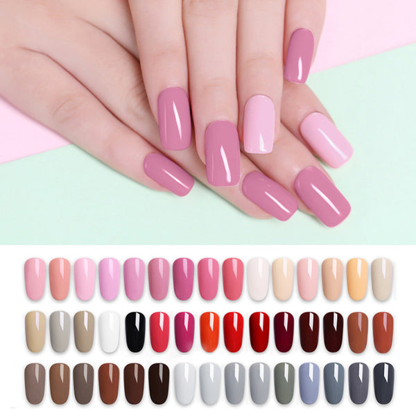 Nail Art Gel 5ML Pure Nail Color UV LED Gel Nail Polish