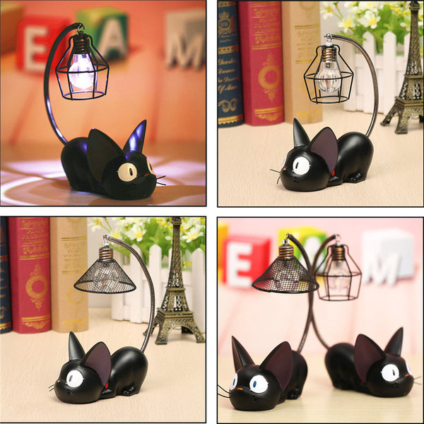 LED Night Light C reative Resin Cat Animal Night Light