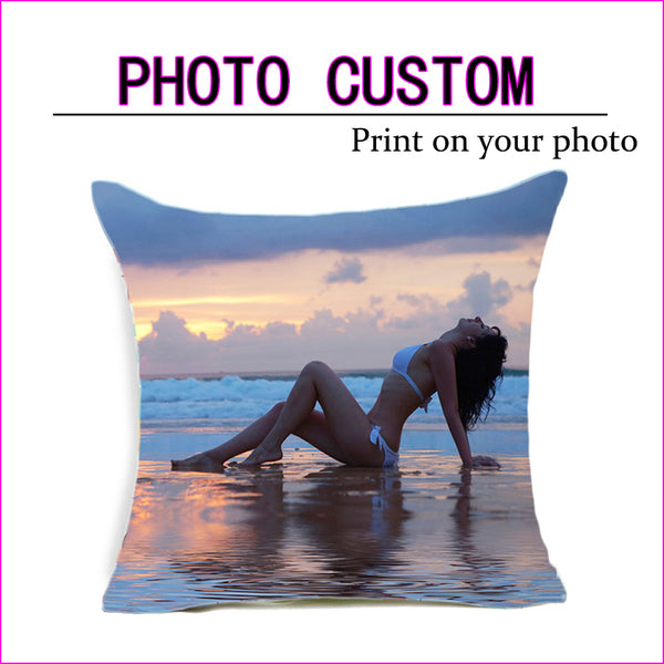 customize gift home cushion cover Pillow cover
